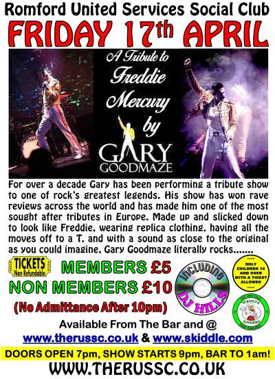 Gary Goodmaze - Freddie Mercury tribute